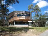 キャンパス内にはデザインチックな建物が一杯。