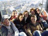みんなでメルボルン観光!こちらはEureka Sky Deckからの眺めです。