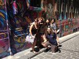 授業後に、シティ観光でオシャレなアート探索。